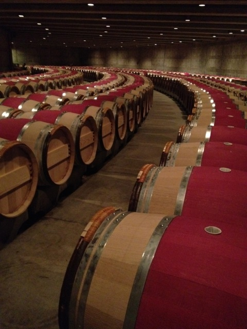 The Barrels of Opus One