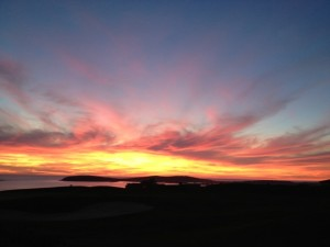 Sunset at Bodega